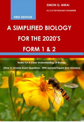 Biology form 1 and 2 revision book 2020