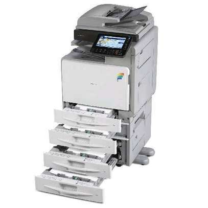 HEAVY DUTY RICOH MPC300 A4 COLORED PHOTOCOPIER image 1