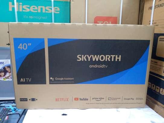 40inch skyworth TV frameless Android smart full HD image 1