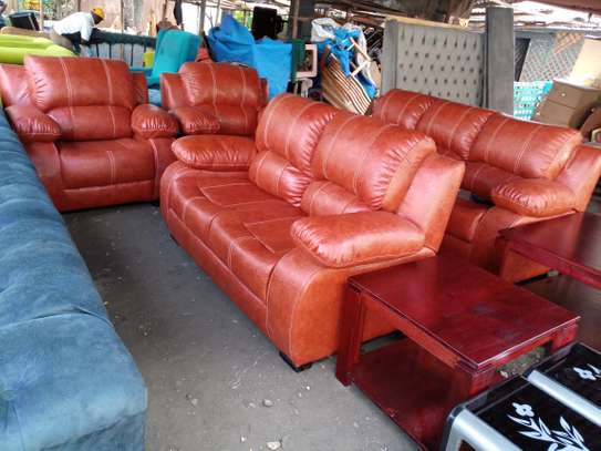 Locally made recliners 7 seater image 1