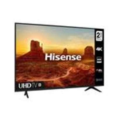 "Hisense 50A7100F 50"" 4K HDR Ultra HD Smart TV - Frameless image 1"