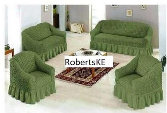 Green Sofa Covers image 1