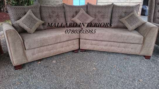 Curved 5 Seater Sofa