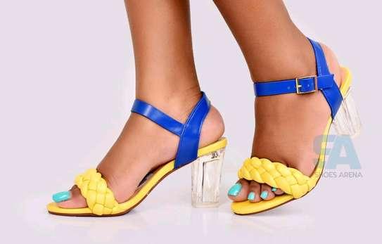 Catchy Chunky heels image 2