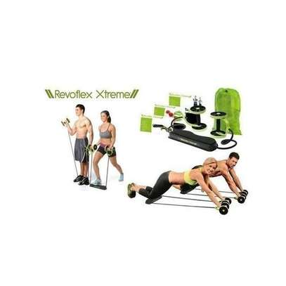Revoflex Xtreme Home Total Body Fitness Gym Abs Trainer Resistance image 1