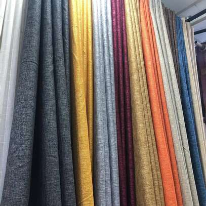 PLAIN SHEERS AND CURTAINS PER METER image 9