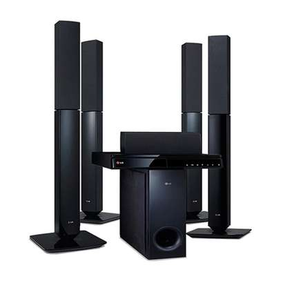 Lg LHD 657 home theater system image 1