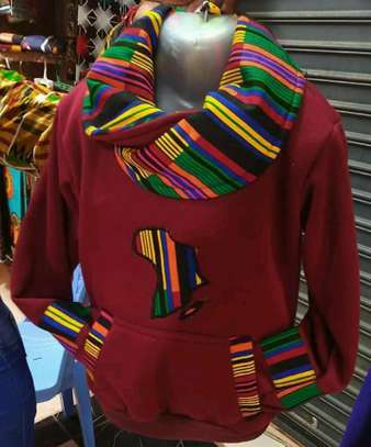 Africa designed hoods and T-shirts. image 7