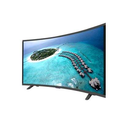 Vision Plus  – 43″ – FHD Smart Curved, Android LED TV – Black image 1