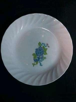 12pc Melamine Dinner Plates/ Dinner Plates image 3