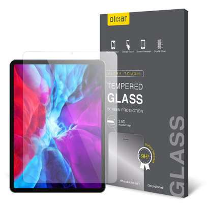 """Tempered Glass Screen Protector for iPad Pro 12.9"""" 2020 image 2"""