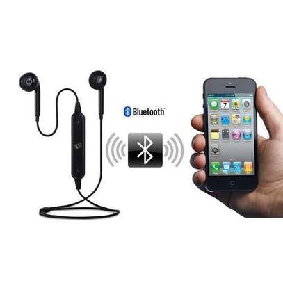 S6 Wireless Sport BlueTooth Earphone For Iphone And Android Mobile image 1