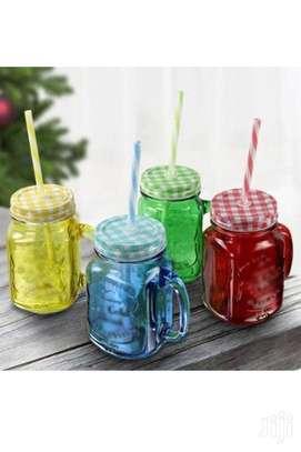 Mason Juice Smoothie Drink Kid Child Adult Home Party Mug image 2