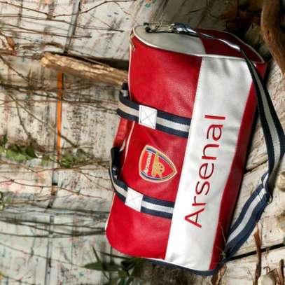 Arsenal designer duffle bag image 1