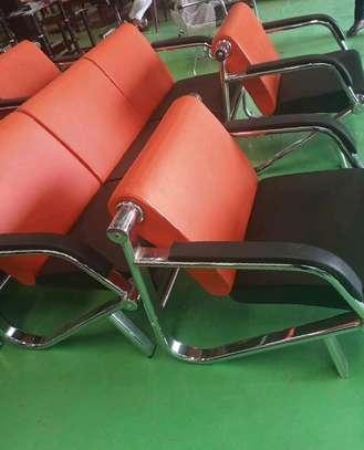 5 Seater leather ofice sofa set image 1