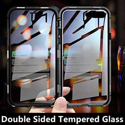 Magnetic Double-sided 360 Full Protection Glass Case for iPhone 7/8 image 3