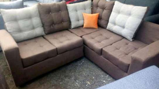 Sofa set made by hand wood and good quality material image 6