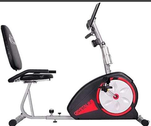 Recumbent bike image 4