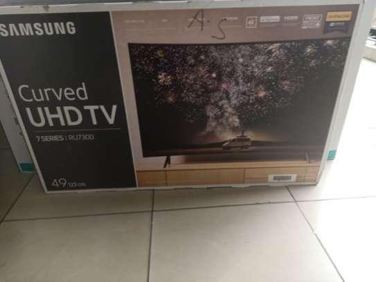 49 Samsung curved 4k tv image 1
