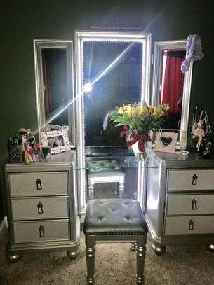 Vanity dressers/vanity dressing mirrors for sale in Nairobi Kenya/latest dressing table designs/quality and affordable Dressing mirror design image 1