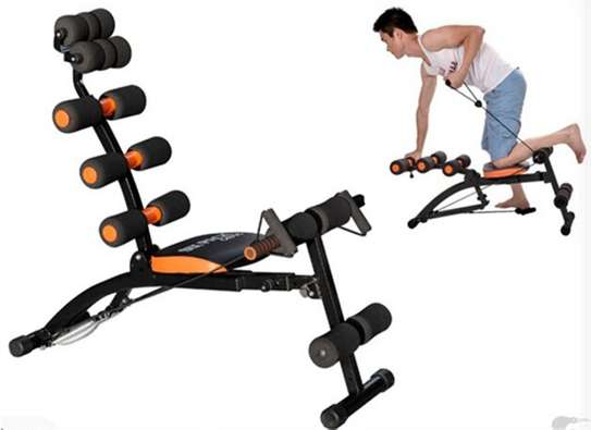 Gyms Revolutionary Machine for Abdominal Exercisers Six Pack Care Body image 1