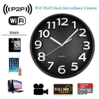 CCTV Cameras Wall Clock Security for Home Nanny
