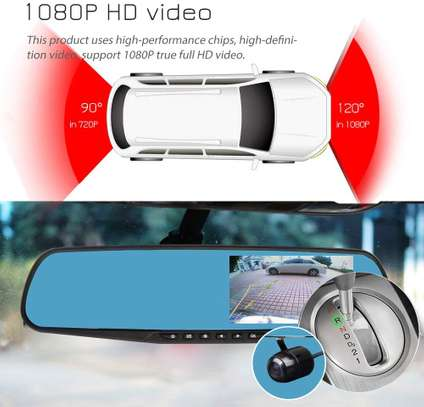 Dash Cameras 1080p HD Front and Rearview image 3