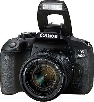 Canon EOS 800D/Rebel T7i DSLR Camera With 18-55mm Lenses - Enjoy Cashback of Ksh.7000 when you purchase this camera image 1