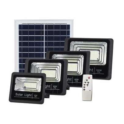 Solar flood light 50 watts image 1