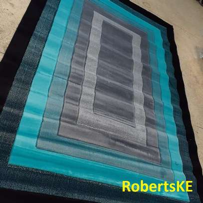 turquoise- bluish viva soft carpet image 1