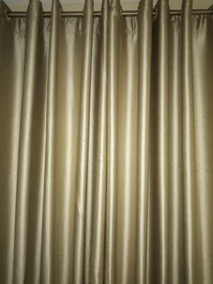 Brown Beautiful Curtains