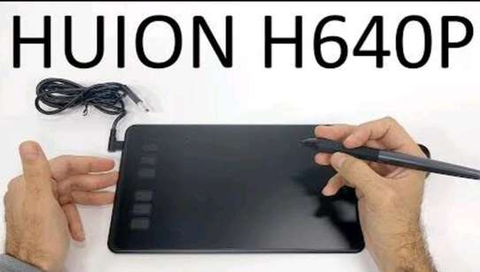HUION H640P Graphics Pen Tablet with Battery-Free Pen image 2