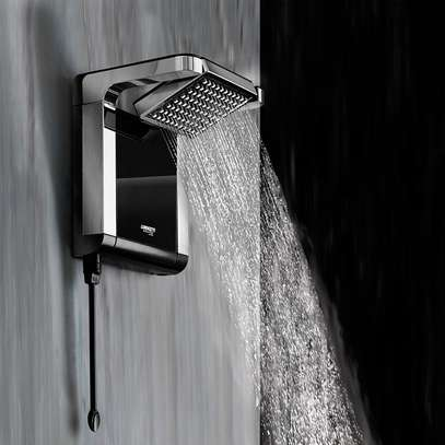 Lorenzetti Acqua Star instant shower water heater Black & Chrome image 3