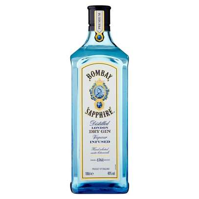 Bombay Sapphire Gin 1Litre image 1