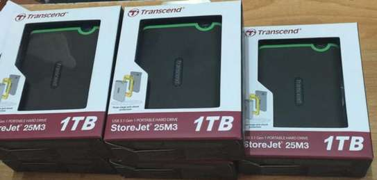 Transcend 1tb External Harddrives(SEALED). image 1