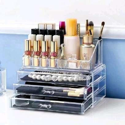 3 Drawers Makeup/Cosmetics Organizer image 1