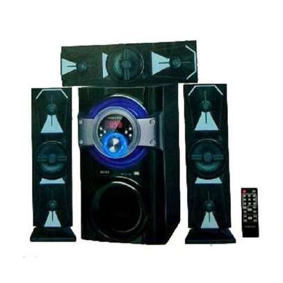 Golden Tech GT-111 3.1 SUBWOOFER WITH,BT,SD/USB/FM 15,000WATTS -BLACK image 1