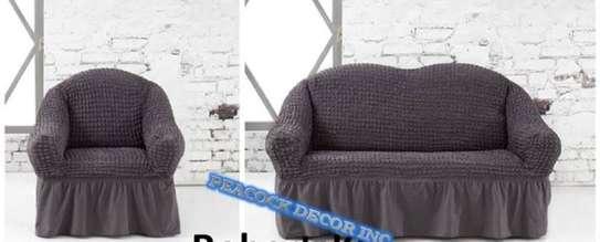 Stretch Spandex Sofa Cover image 2