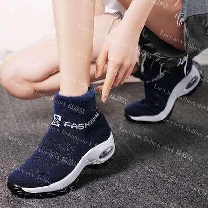 Ladies socks boot sneakers image 4