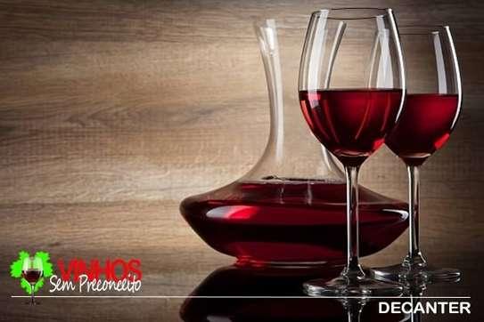 decanter set plus wine glases image 2