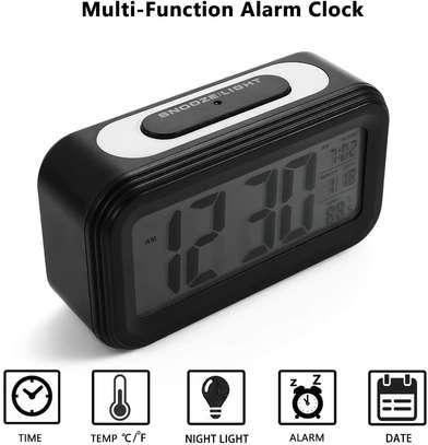 LED Digital Backlit Alarm Clock WithThermometre And Calender image 7