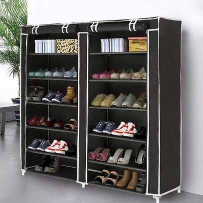 Portable shoe rack image 9