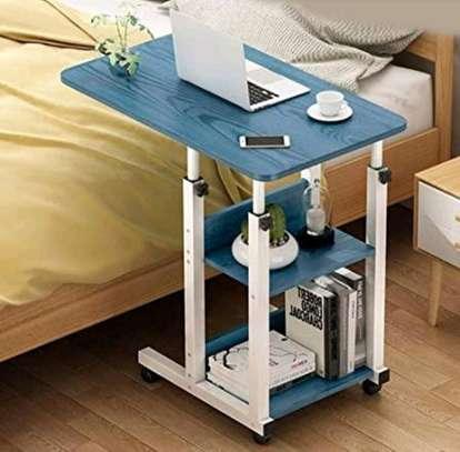 Overbed laptop bedside table image 1