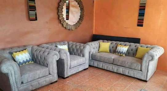 5 Seater Chesterfield Sofa image 1