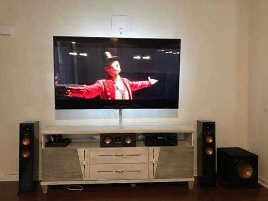 TV Mounting Service with On-wall Wire Concealment image 2