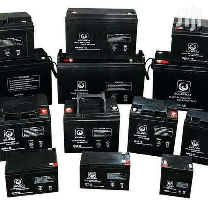 Solarmax batteries 200ah dry cell battery image 1