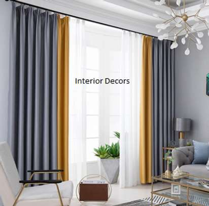 High-quality curtain and sheers image 1