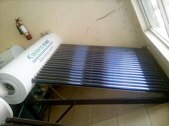 150L solar water heaters.