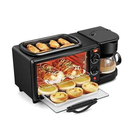 3 in 1 Sokany Breakfast maker grill oven coffee maker image 2