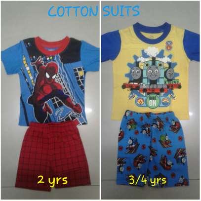 COTTON SUITS